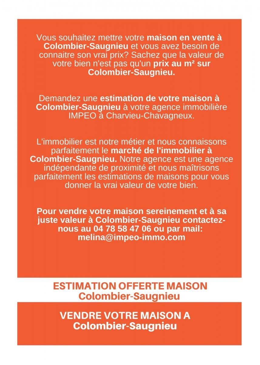 ESTIMATION MAISON Colombier-Saugnieu, vendre sa maison à Colombier-Saugnieu,avec IMPEO Immobilier !