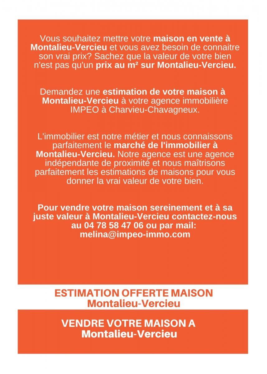Estimation Maison Montalieu-Vercieu, vendre sa maison Montalieu-Vercieu avec IMPEO Immobilier