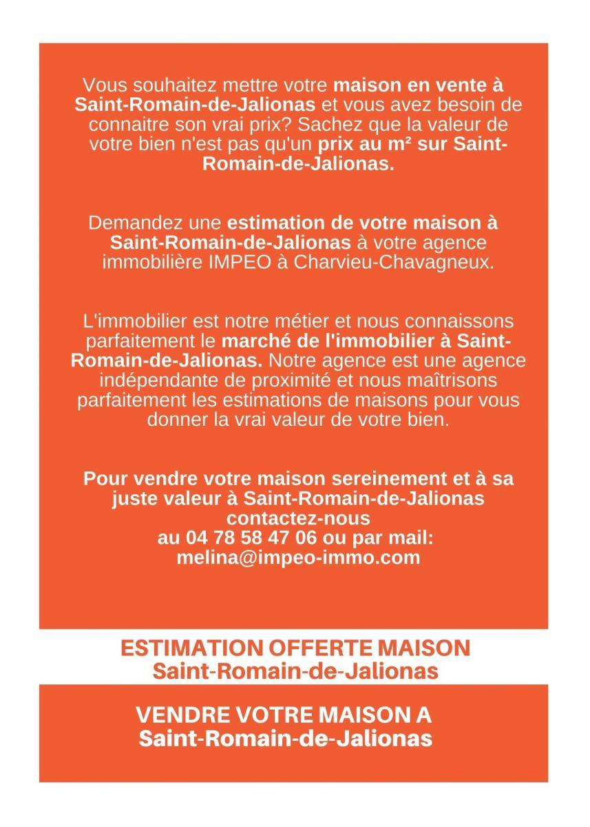 ESTIMATION MAISON SAINT-ROMAIN-DE-JALIONAS, vendre sa maison à SAINT-ROMAIN-DE-JALIONAS,avec IMPEO Immobilier !