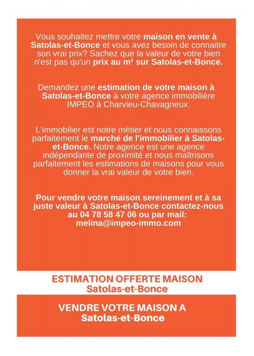 ESTIMATION MAISON SATOLAS-ET-BONCE, vendre sa maison SATOLAS-ET-BONCE,avec IMPEO Immobilier !