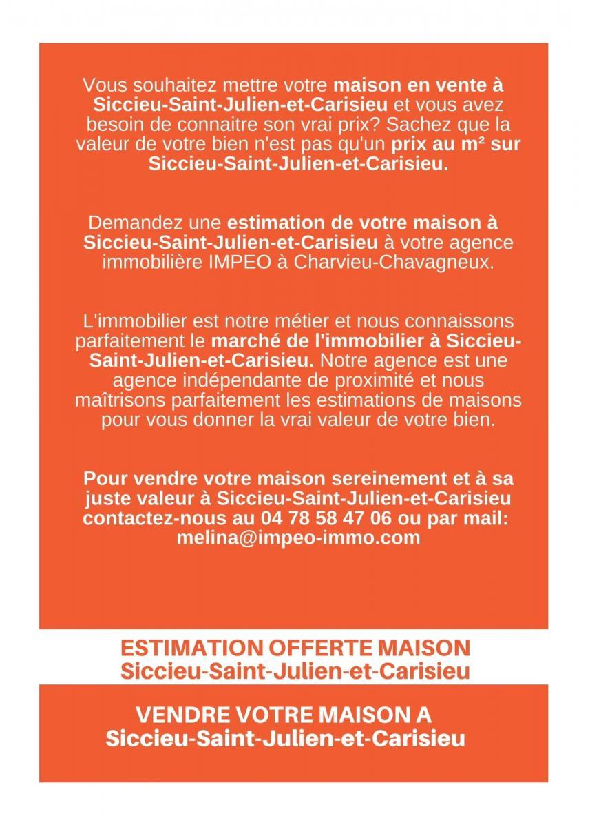 ESTIMATION MAISONSiccieu-Saint-Julien-et-Carisieu, vendre sa maison à Siccieu-Saint-Julien-et-Carisieu,avec IMPEO Immobilier !