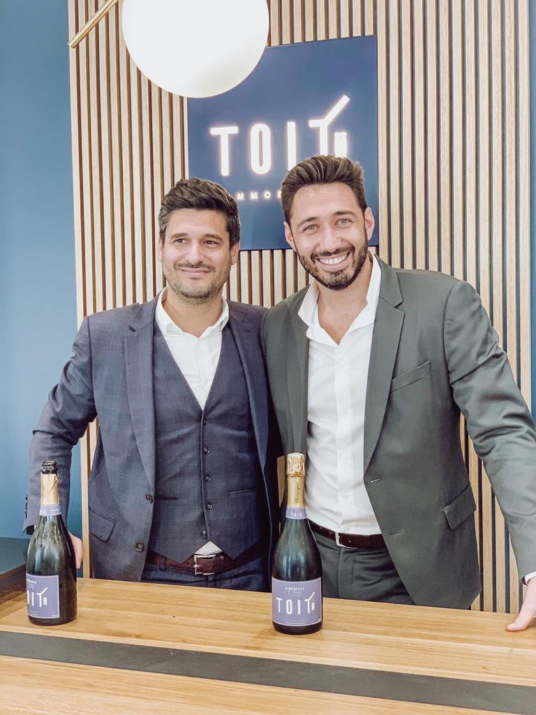 Co- fondateurs TOIT IMMOBILIER