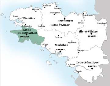 carte Quimperlé