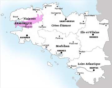 carte crozon