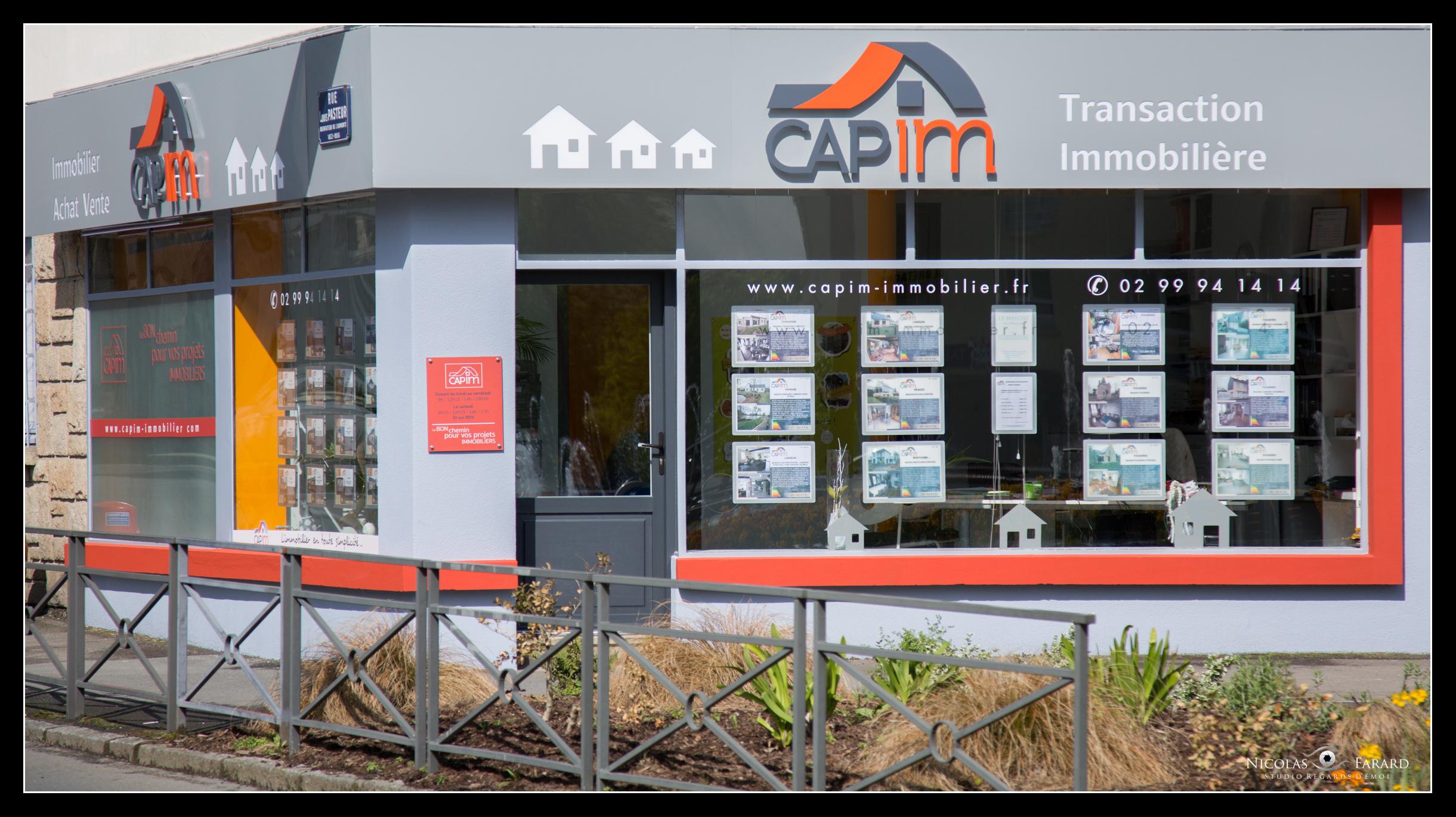 Agence Capim immobilier Fougères