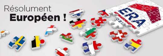 Visuel ERA Europe - Réseau résolument Européen