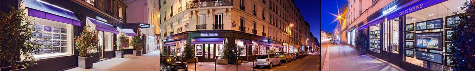 les agences Paris Seine Immobilier